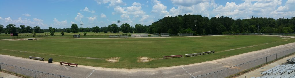 Panther Football is located behind the elementary school.