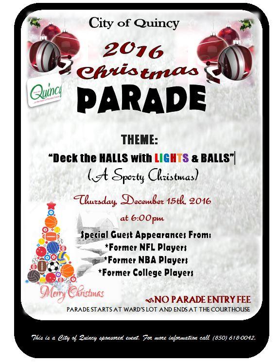 City of Quincy Christmas Parade – Greensboro, FL